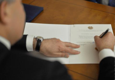 Արմեն Սարգսյանը ստորագրել է Վանեցյանի ազատման հրամանը