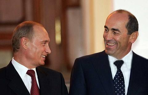 Ռոբերտ Քոչարյանը շնորհավորել է ՌԴ նախագահին