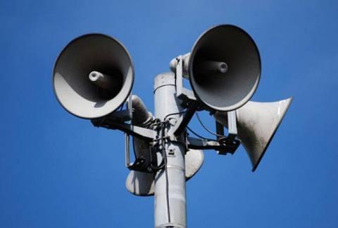 Ստեփանակերտում օդային տագնապի ազդանշանը հնչել է կարճ միացման հետևանքով. ԱԻՊԾ