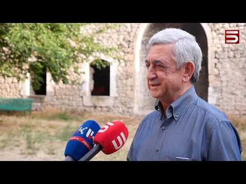 Ամարասի նոր շունչը. Սերժ Սարգսյանը՝ Արցախում