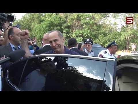 Հարյուրավոր քաղաքացիներ պահանջում են Քոչարյանի ազատությունը