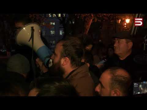 «Սուպեր» նախարարը չիջավ. ոստիկանությունը ուժ է կիրառել