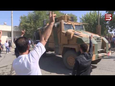 Թուրքական բանակն արդեն Սիրիայի հյուսիսում է