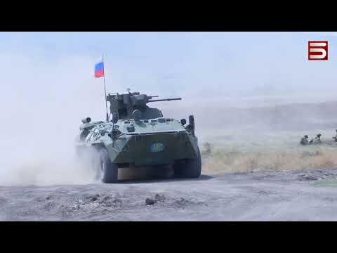 Ռուսական զորավարժություններ՝ Արցախում