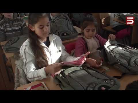 Ռուսաստանից՝ Արցախի աշակերտներին. Ստեփանակերտում ևս մեկ դպրոց վերաբացվեց