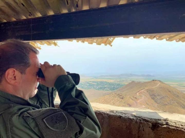 ՀՀ պաշտպանության նախարարն այցելել է մարտական հենակետ