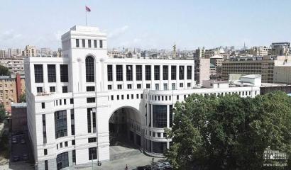 ՀՀ ԱԳՆ հայտարարությունը՝ Ի պատասխան Թուրքիայի ԱԳՆ Արցախում անցկացվող ընտրությունների վերաբերյալ հայտարարության