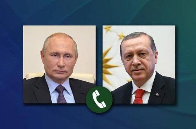Պուտինն Էրդողանին է ներկայացրել ՌԴ-ի, ՀՀ-ի և Ադրբեջանի ղեկավարների եռակողմ հանդիպման արդյունքները