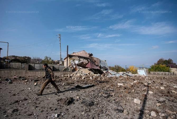 Ռուս խաղաղապահները 2 հա տարածք են ականազերծել Լեռնային Ղարաբաղի սահմանազատման գծի մոտակայքում. ՌԴ ՊՆ