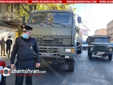 Սեբաստիա փողոցում ՊՆ համարանիշներով КамАЗ-ը վրաերթի է ենթարկել հետիոտնին, վերջինս հիվանդանոցում մահացել է