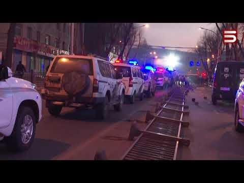 Չինաստանում ավտոբուսն ընկել է փոսը