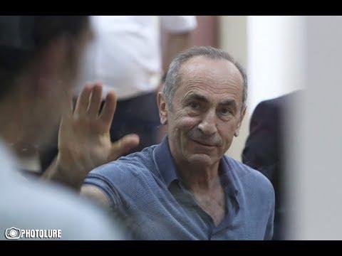 Դատարանը մերժեց Քոչարյանին գրավով ազատելու միջնորդությունը