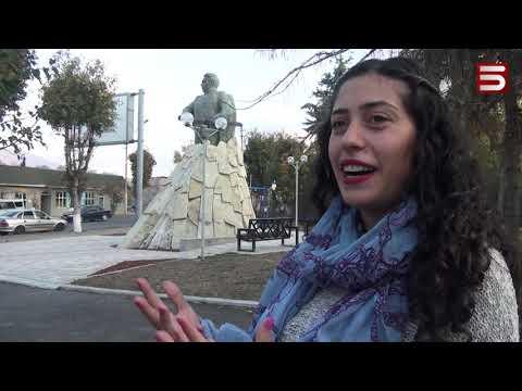 Զորավար Անդրանիկի արձանը Վանաձորում