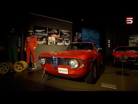 Իտալական ռետրո-ավտոմեքենաների ցուցահանդեսը՝ առանց հանդիսատեսի. տեսանյութ