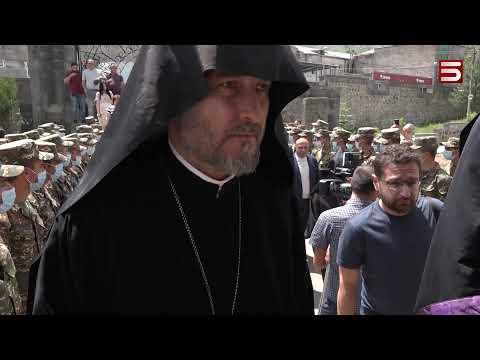 Ամենայն Հայոց կաթողիկոսը մեկնել է Սյունիք և Արցախ