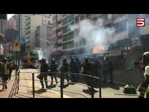 Հոնկոնգում մարդ են այրել. ոստիկանը կրակել է մարտական փամփուշտով